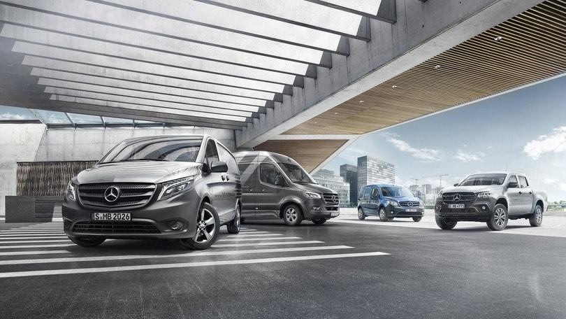 Veicoli commerciali Mercedes, ecco le novità digitali