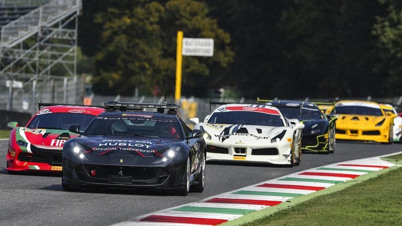 Al Mugello Ferrari e Hublot festeggiano le Finali Mondiali