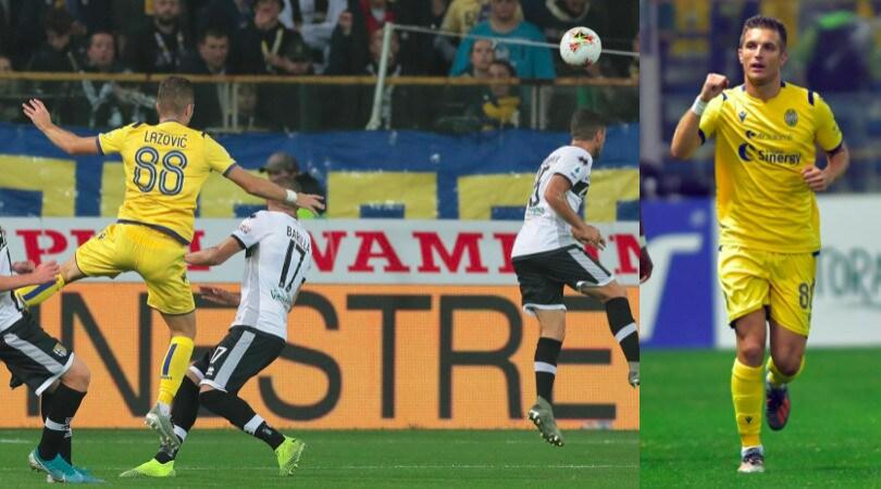 Lazovic, rete bellissima e decisiva per la vittoria del Verona a Parma