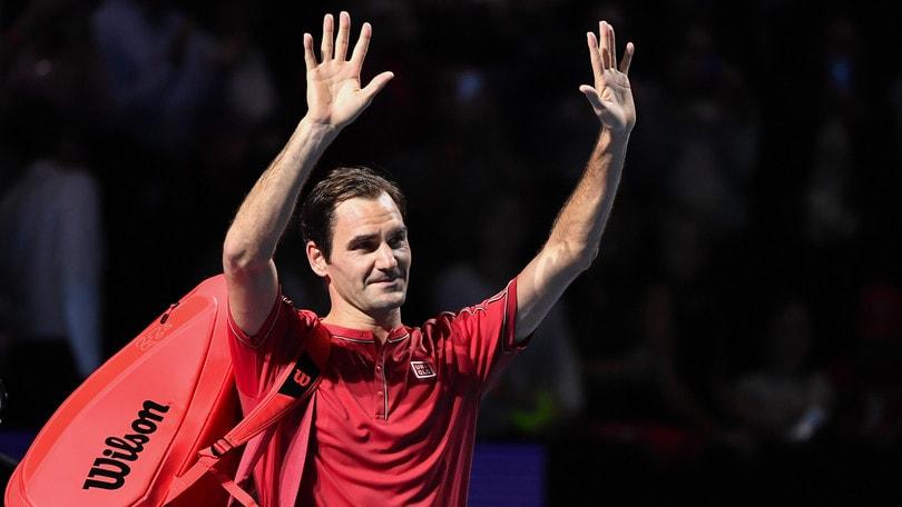 Federer dà forfait alla prima edizione dell'Atp Cup