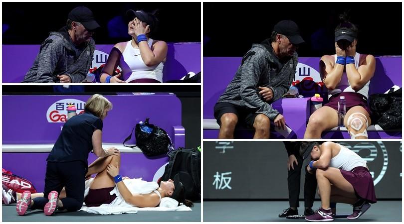 La Andreescu saluta le Wta Finals tra le lacrime