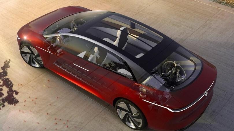 Volkswagen ID.Concept, architettura modulare MEB