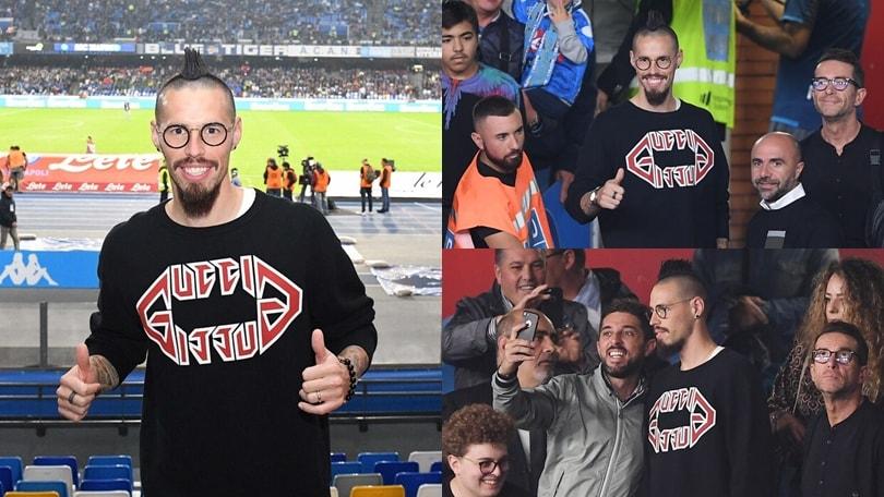 Hamsik riabbraccia il Napoli: Marekiaro di nuovo al San Paolo