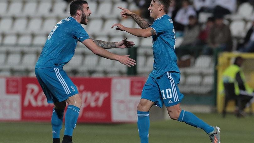 Beltrame-gol e la Juventus U23 passa a Vercelli: 1-0 alla Pro