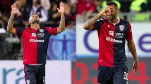 Cagliari, doppietta di Joao Pedro contro il Bologna