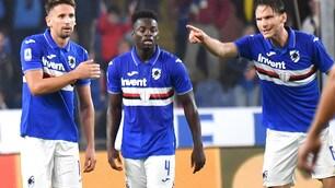 Sampdoria, Ramirez salva Ranieri: contro il Lecce è 1-1