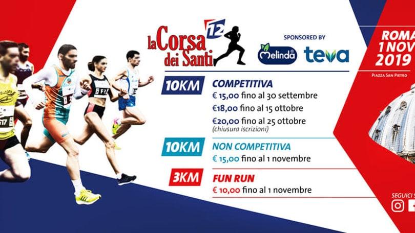 Corsa dei Santi a Roma, la 10KM IAAF Bronze Label Road Race