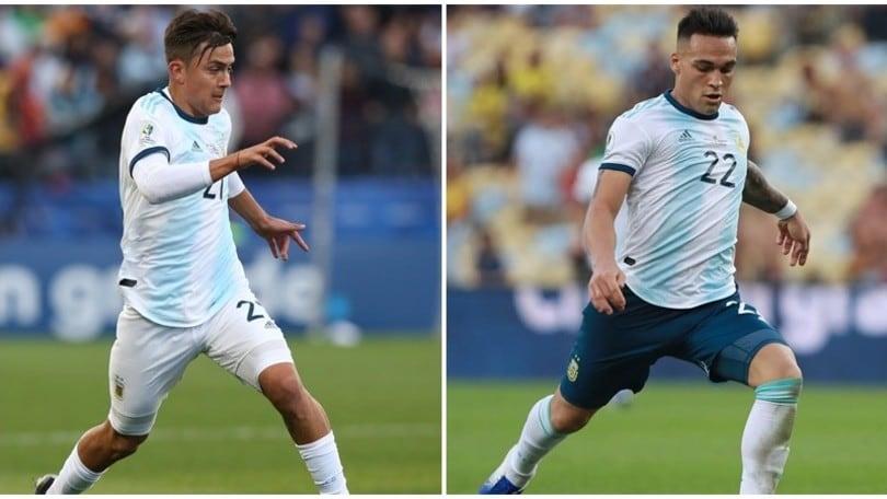 Dybala e Lautaro Martinez convocati nell'Argentina. C'è Messi, non Icardi