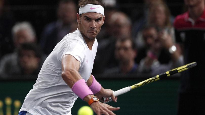 Parigi-Bercy, Nadal elimina Wawrinka. Passa Djokovic, fuori Zverev