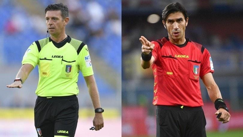 Serie A, arbitri: Roma-Napoli a Rocchi, Calvarese per Milan-Lazio