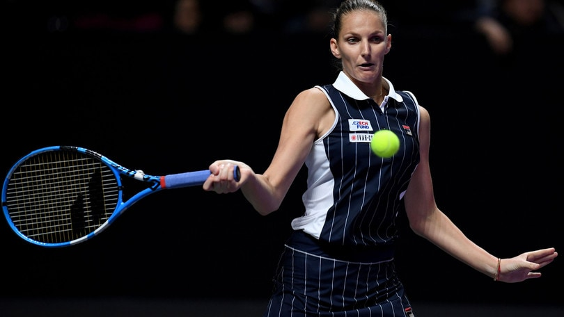 WTA Finals: Halep out, Pliskova in semifinale