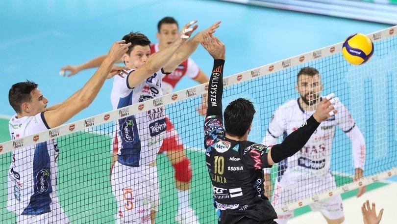 Supercoppa, Perugia raggiunge Modena in finale
