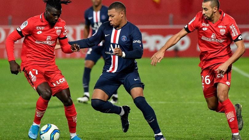 Ligue 1, Psg sconfitto a Dijon: a secco Icardi, non basta Mbappé