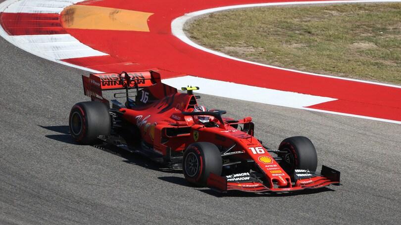 Gp Usa: Hamilton davanti a Leclerc nelle seconde libere