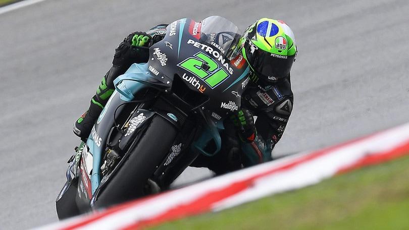 MotoGp Malesia: Morbidelli domina le libere 4, Rossi secondo