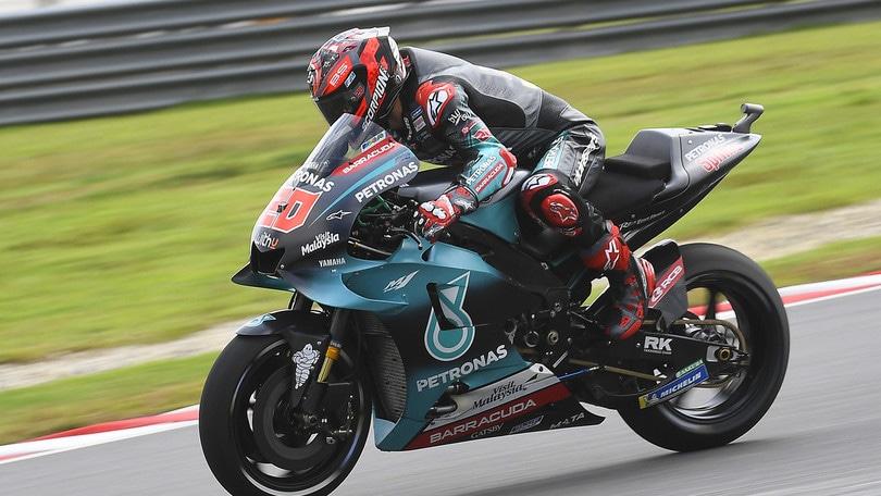 MotoGp Malesia: Morbidelli vola nelle libere 3, Valentino Rossi 12°