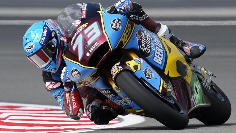 Moto2: Alex Marquez in pole in Malesia, Luca Marini decimo