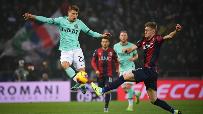 Bologna-Inter 1-2, il tabellino