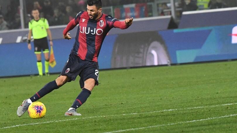 Bologna, i convocati per il Sassuolo: out Soriano e Santander