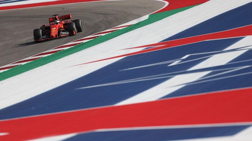 Gp Usa: Verstappen il più veloce nelle libere 3 davanti a Vettel