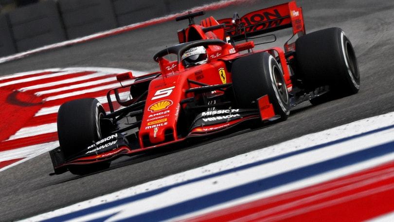 """Gp Usa, Vettel: """"Complimenti a Bottas"""""""