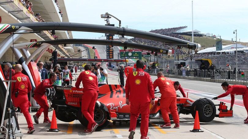 F1, Gp Usa: griglia di partenza e diretta in TV