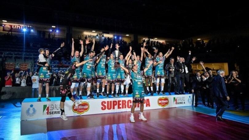 Supercoppa Italiana, il primo trofeo della stagione lo alza Perugia