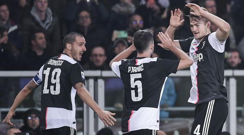 Torino-Juventus 0-1: De Ligt rimette Sarri in vetta