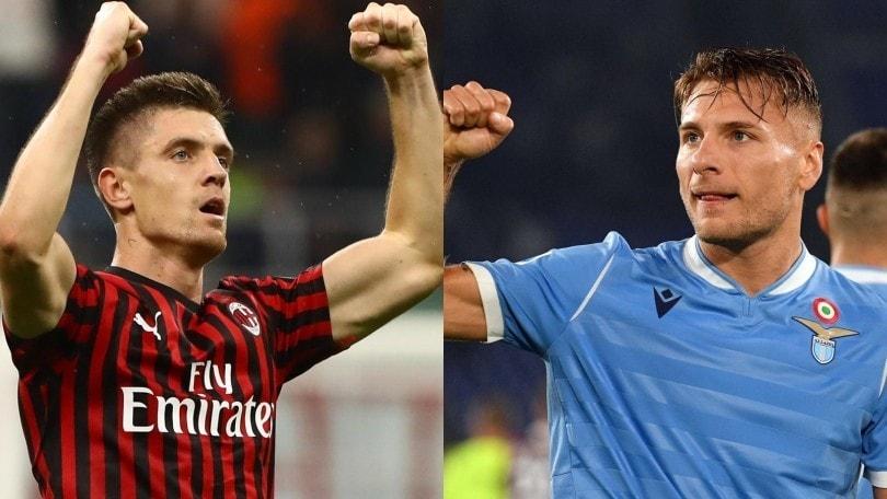 Diretta Milan-Lazio ore 20.45: come vederla in tv e formazioni ufficiali