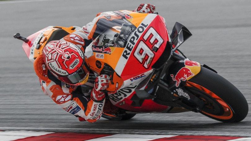 """Gp Malesia, Marquez: """"Incredibile quanto fatto nel primo giro"""""""