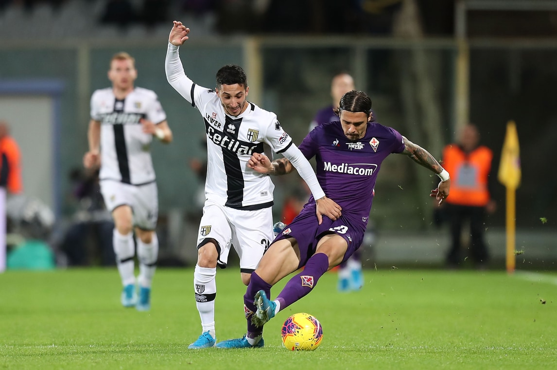 Il Parma ferma la Fiorentina sotto gli occhi di Commisso