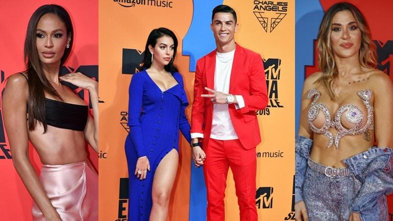 Ronaldo e Georgina superstar agli MTV Awards