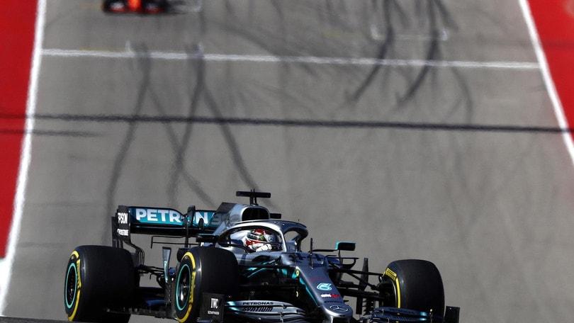 Gp Usa: Bottas vince la gara, Hamilton è campione del mondo
