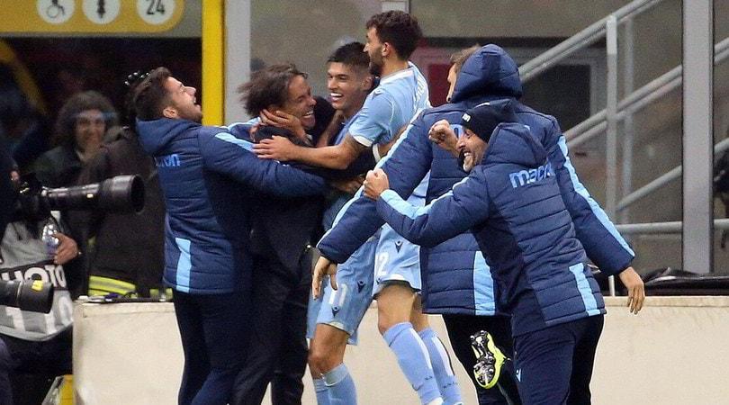 Milan-Lazio 1-2: Immobile sblocca, Correa firma un'impresa storica