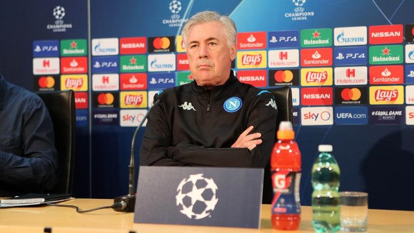 """Napoli, Ancelotti: """"Ritiro? Non sono d'accordo con De Laurentiis e società"""""""