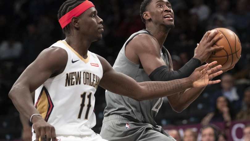 Nba, Melli spettatore e i Pelicans perdono con Brooklyn