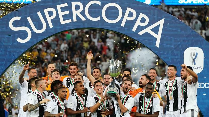 Juve-Lazio di Supercoppa italiana il 22 dicembre a Riad: dove vederla in tv