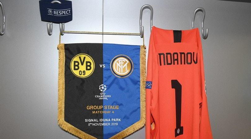 Diretta Borussia Dortmund-Inter ore 21: formazioni ufficiali e come vederla in tv