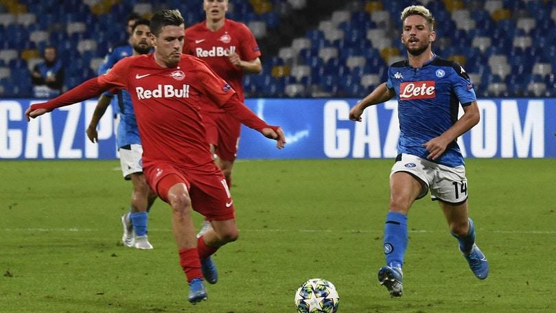 Napoli-Salisburgo 1-1, il tabellino