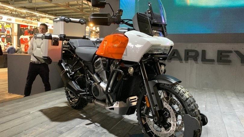 EICMA 2019: Harley-Davidson presenta Pan America e Bronx