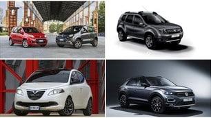 Auto, la top ten delle più vendute in Italia a ottobre 2019: FOTO
