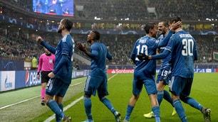 Lokomotiv Mosca-Juventus 1-2: show di Douglas Costa al 93'