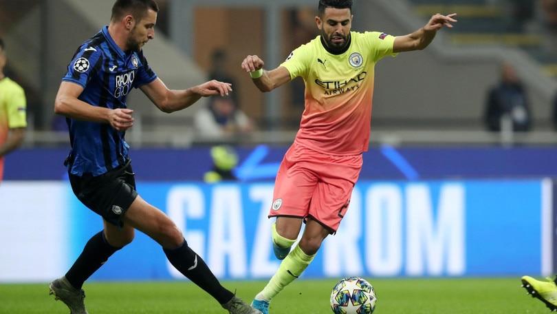 Champions League Atalanta-Manchester City 1-1, il tabellino