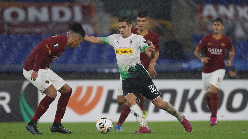 Diretta Borussia Mönchengladbach-Roma ore 21: dove vederla in tv e formazioni ufficiali