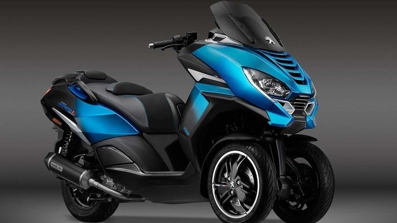 EICMA 2019, Peugeot e le tre ruote di Metropolis RS Concept