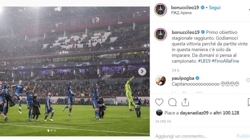 """Pogba greets Bonucci on Instagram and the fans go wild: """"Come back to Juventus"""""""