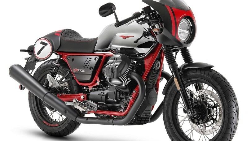 EICMA 2019, Moto Guzzi con V85 TT e V7 Special