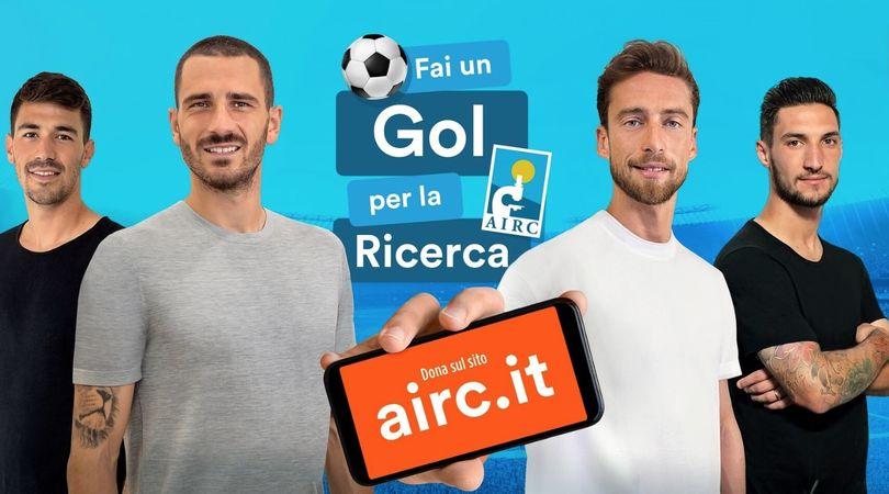 Un Gol per la Ricerca, il mondo del calcio al fianco della fondazione AIRC
