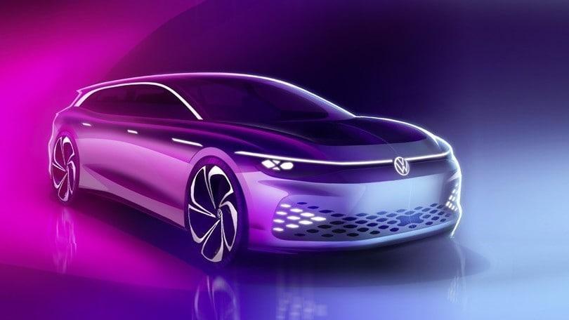 Volkswagen ID. Space Vizzion, il concept della wagon presentato a Los Angeles
