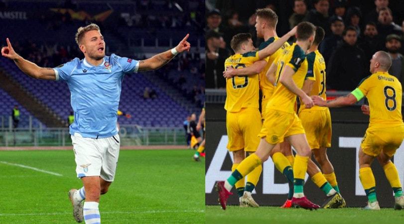 Immobile illude la Lazio, poi il Celtic la ribalta e fa 1-2